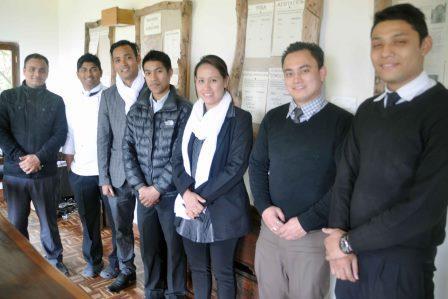 Dwarika's staff