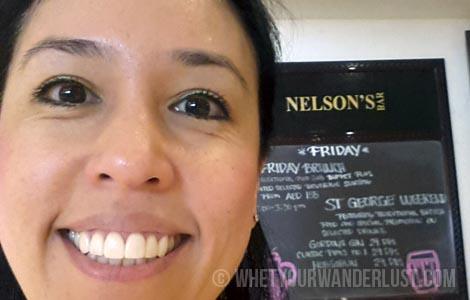 Jen at Nelsons
