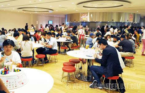 xMy CupNoodles tables