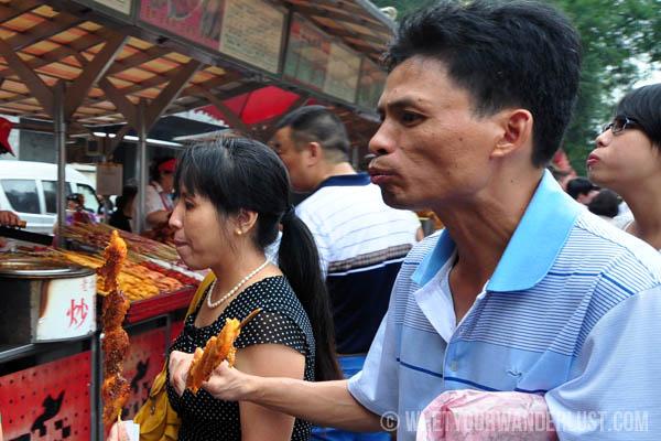 Donghuamen Eating